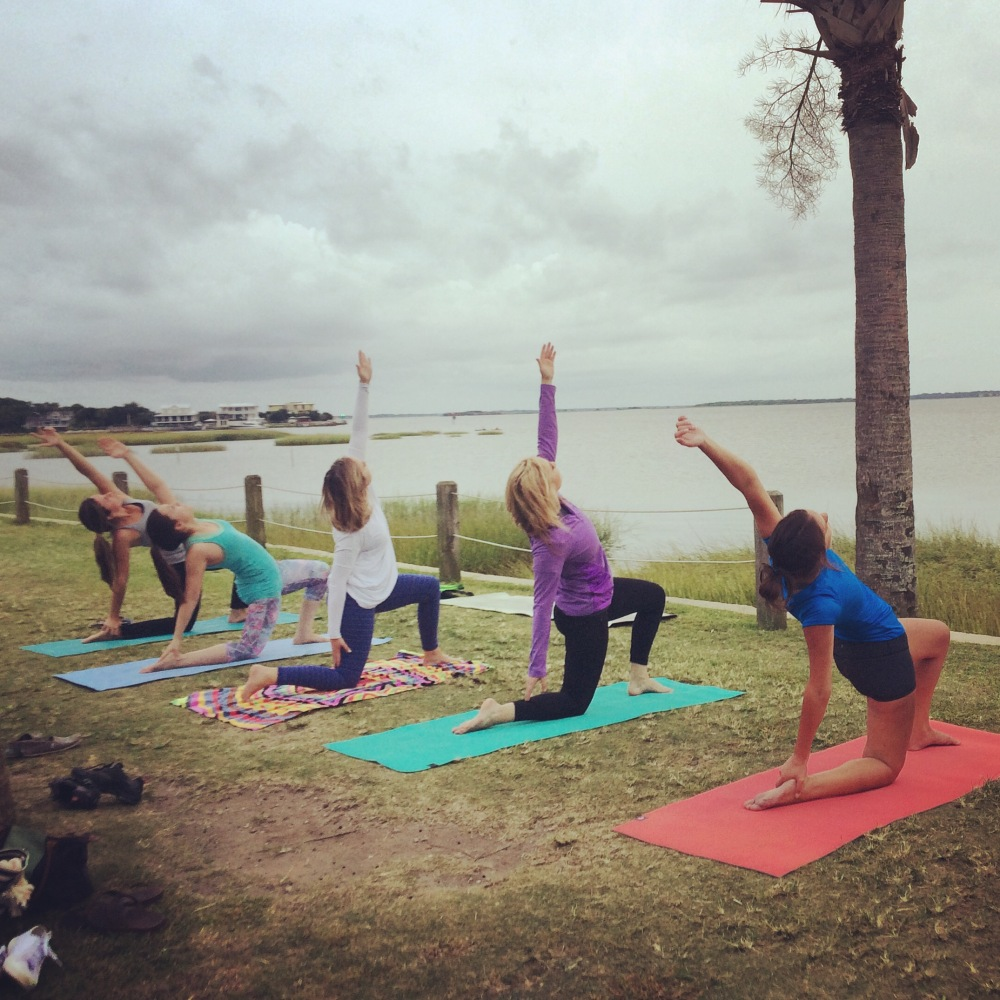 Pitt Street Bridge Yogis